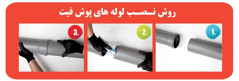 نتیجه تصویری برای لوله های فاضلاب U-PVC